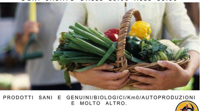Ci vediamo Sabato! Come ogni sabato vi aspettiamo al mercato del c.s. 28 maggio dalle 15 alle 18 dove troverete prodotti biologici sani e genuini, autoproduzioni e molto altro.