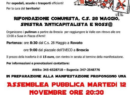 VERSO LA MANIFESTAZIONE NO TAV del 16 novembre 2013
