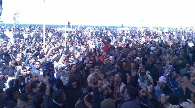 Lo scossone libico