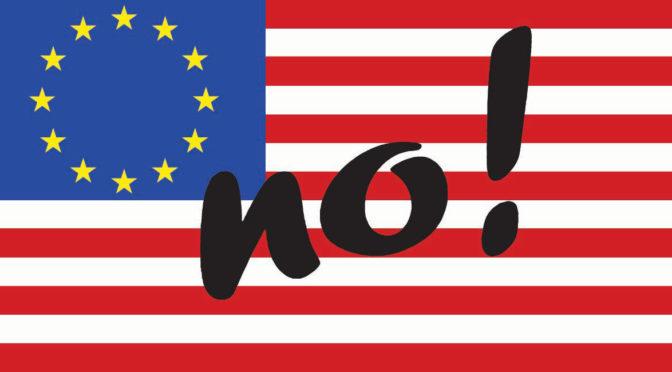 Elezioni europee, attenti al Trattato di libero scambio Usa-Ue